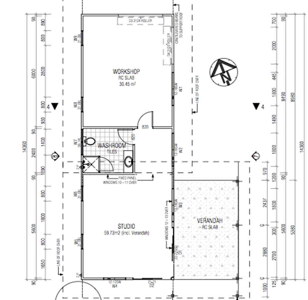 Granny flat designs barefoot building design for Floor plans granny flats