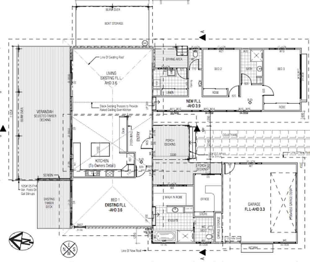 South Golden Beach Floor Plan